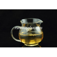 High quality borosilicate Round glass Pitcher