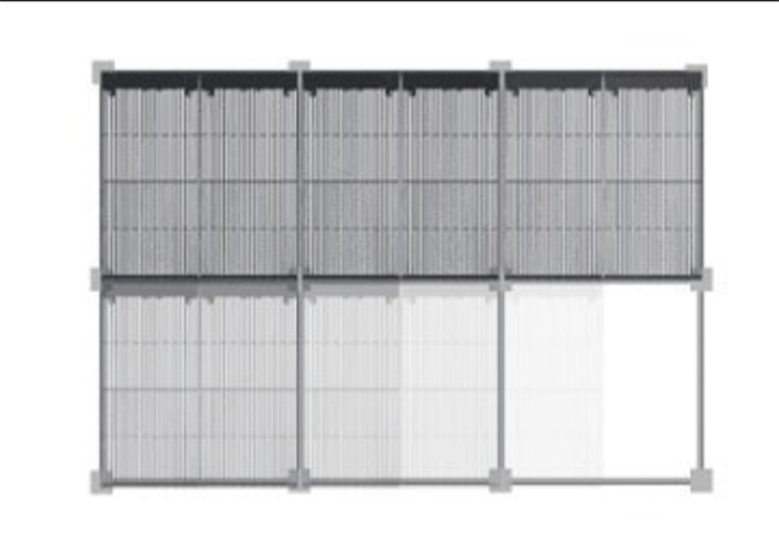 LED mesh screen wall