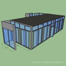 Heiße neue Produkte Erstklassiger professioneller Entwurf Fertigen Sie Glashäuser besonders an