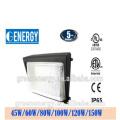 ETC CE UL Aprovado Alta Qualidade IP65 Outdoor 80W LED Wall Pack Iluminação