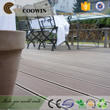 Long service lifetime outdoor artificial wood flooring