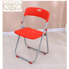 Chaise pliante en plastique de formation de prix usine