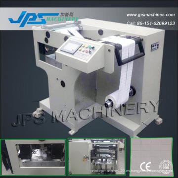 Jps-320zd 320mm automática de etiqueta de papel de etiqueta de plegado de la máquina (máquina de carpetas)