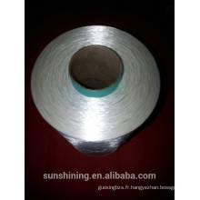 fil de filament viscose continu couleur brillant 112D / 44F A Grade
