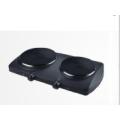 Fogão elétrico de placa quente de duas placas