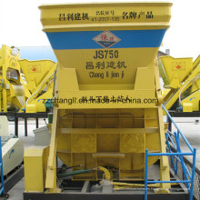 Precio de la máquina del mezclador concreto Js750, mini mezclador concreto