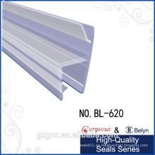 Belyn impermeable adhesivo ducha goma tira de sello de puerta de cristal
