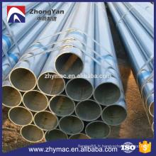 haute qualité et meilleur prix pour des tubes en acier galvanisés