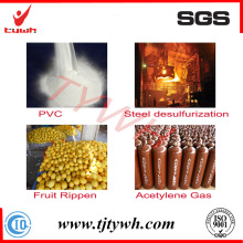 Carboneto de cálcio de 25-50 mm para gás acetileno