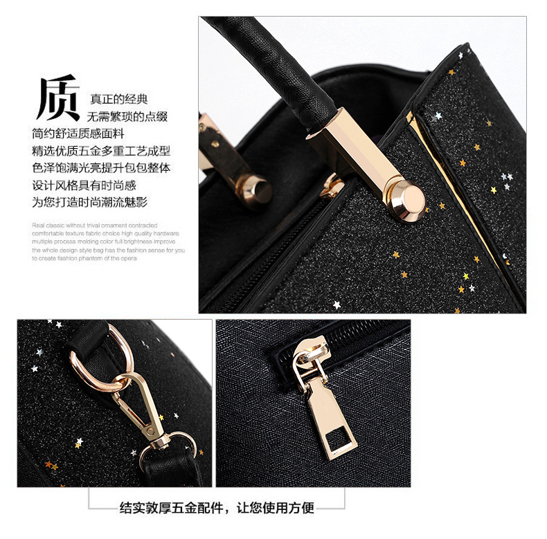 Fashion Pu Leather Lady Handbag