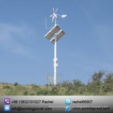 Sistema de fornecimento de energia eólica e solar para monitoramento
