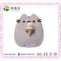 Cute Soft Cuddly Pusheen Plush Cat with Cookie Pillow Toy