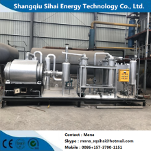 Best price from factory waste tyres pyrolysis plant