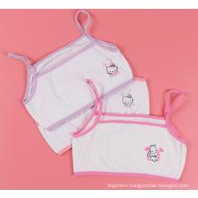 Love Girl Children Carton Bra Soft Cotton Kids Lingerie