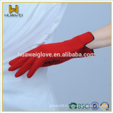 Women' gloves custom any color lady Wool women wool gloves