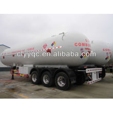 3 alxes 60000 liters LPG transportation semi-trailer truck