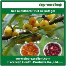 High Quality Sea Buckthorn Fruit Oil Softgel