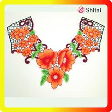 collar embroidery designs hot sales