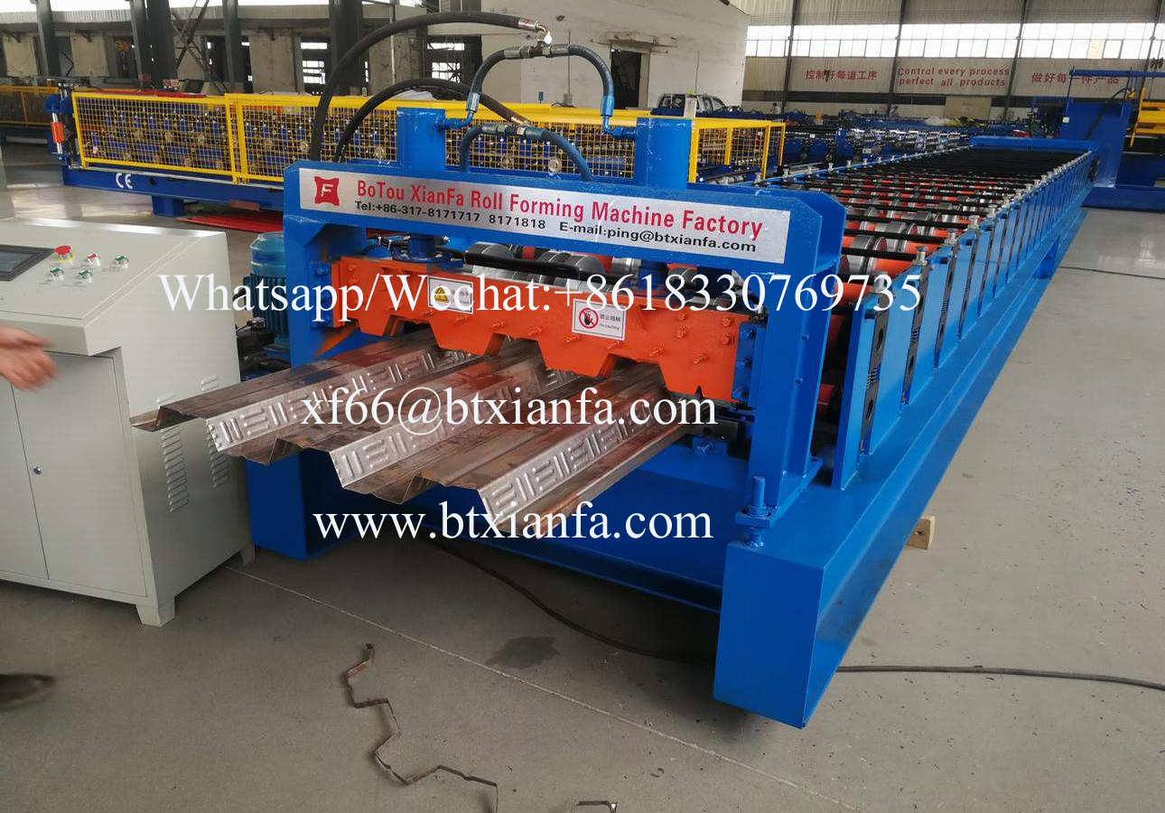 Trapezoidal Floor Deck Roll Forming Machine