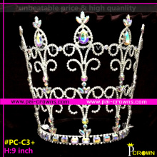 Tiaras and crowns wholesale Tiara with colored stones