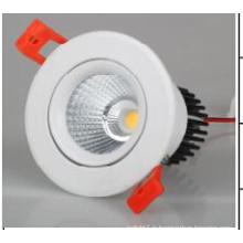 AC85-265V Éclairage LED COB haute luminosité vers le bas