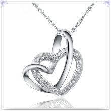 Ювелирные изделия стерлингового серебра ожерелья способа привесные (NC0100)