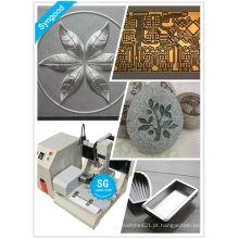 Máquina de gravura de metal SG4040 máquina de roteador de cnc de metal de mesa