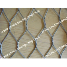 Stainless Steel Wire Rope Mesh ( knotted mesh )