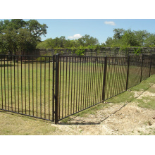 Flat Top 25mm Picket Profile Welded Fence