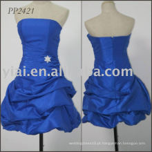 2011 fabricação de frete grátis vestido de noite sexy com contas PP2421