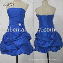 Производство 2011 бесплатная доставка сексуальные вечерние платья бисером PP2421