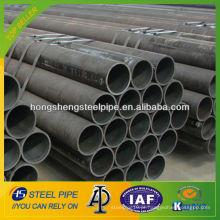 ASTM A106 tubo de aço carbono sem costura / tubo para construção