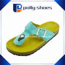Womens Flat Sandal Jelly Flip Flop Ladies Thong Chaussons
