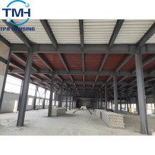 Stahlkonstruktion Baulager Baumaterialien