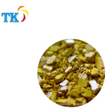 NC pigment chips Yellow--dispersion chips