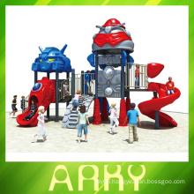 used kids outdoor beautiful transformers playground equipment