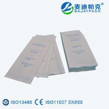Bolsa de papel de esterilización laminada pequeña laminada de la venta caliente