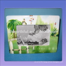 Wholesale home decor ceramic photo frame