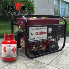 BISON (CHINA) Precio de fábrica del OEM del generador pequeño del gas para el comprador