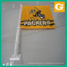 Mini drapeau de table avec support en plastique