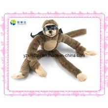 Armas largas de la felpa y piernas largas que gritan el mono (XMD-0116C)