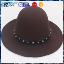 Main product different types fashion crochet women hat made in china