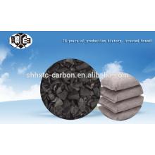 Hacer el desecante con carbón activado de cáscara de coco