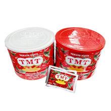 Pasta de tomate enlatada de alta qualidade por atacado do tomate orgânico