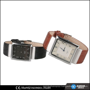 couple lover wrist watch leather fashion