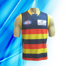 100% Polyester Man's Sleeveless Basketball tragen