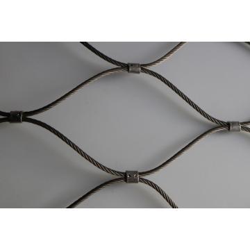 Acier inoxydable ferrule volière câble câble Zoo maille