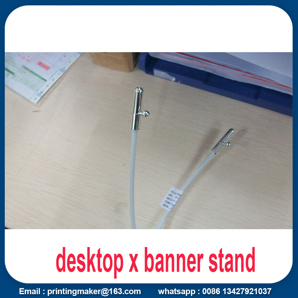 Mini Desktop X-Banner Wirtschaftliches Tabletop Display