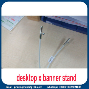 Mini Desktop X-banner Ekonomisk Tabletop Display