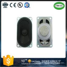 8ohm Stereo Cara Mini Altifalante Retangular